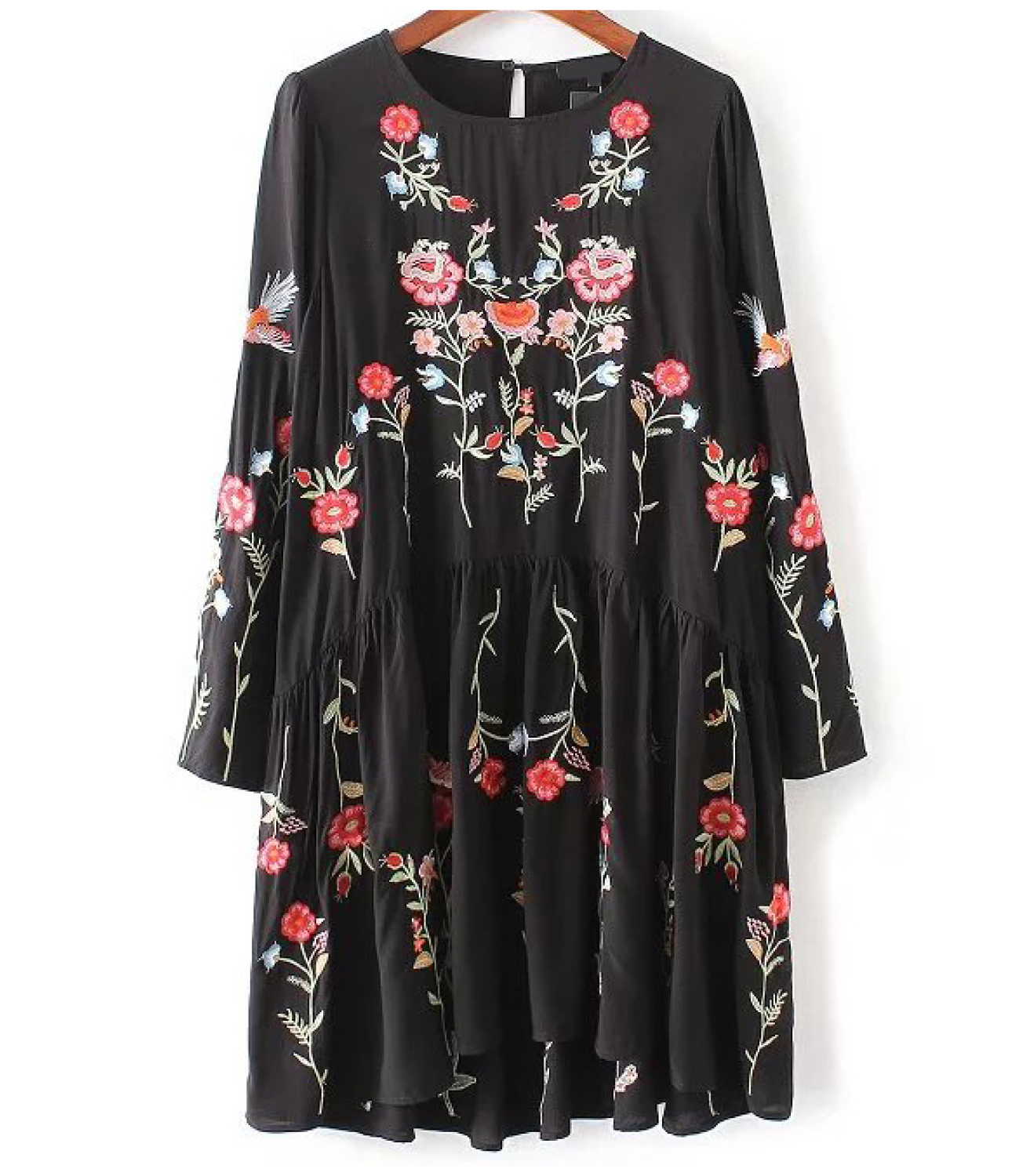 Buy Shein Embroidered Dress