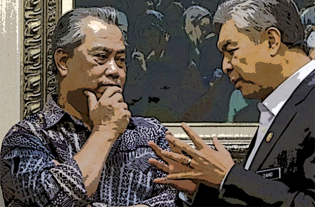 PRU15 hujung tahun, Bersatu bawah BN, Muhyiddin kekal PM