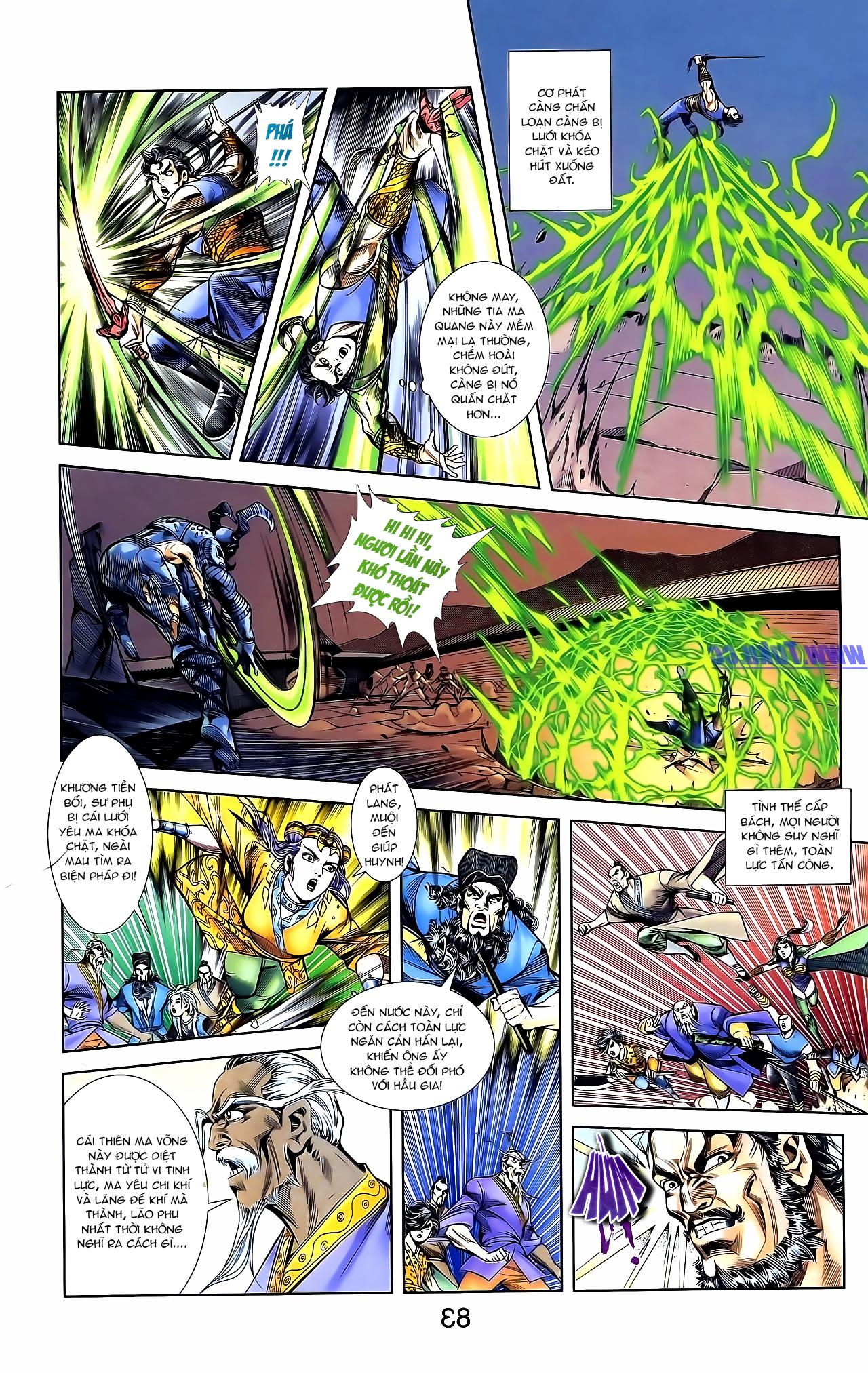 Cơ Phát Khai Chu Bản chapter 161 trang 10