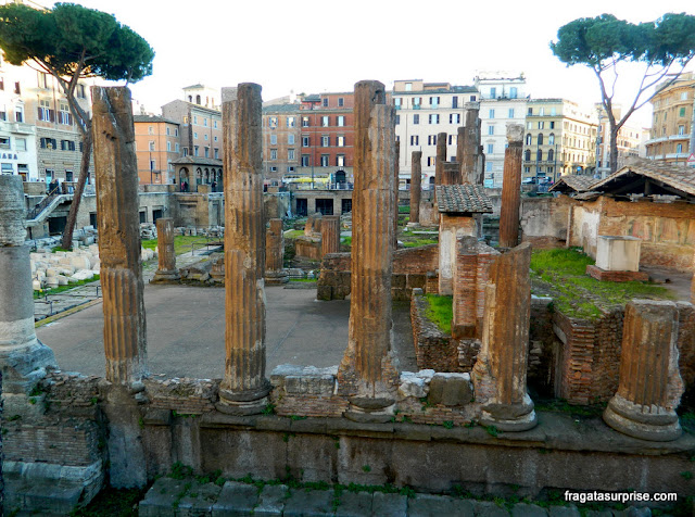 Templos do Largo de Torre Argentina, Roma