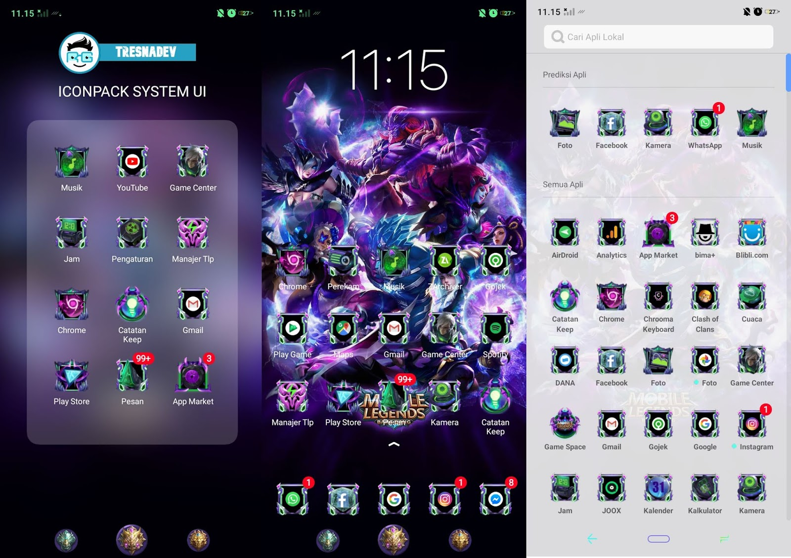 Themes Mobile Legends V3 Premium for OPPO & Realme