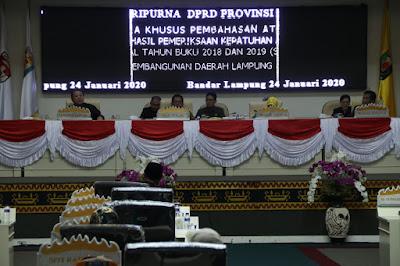 Gubernur dan DPRD Lampung Tinjau Efektifitas Kemandirian Fiskal Pengelolaan Keuangan Daerah