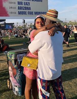 Lovely Photos Of Mr. Eazi And His Billionaire Daughter Girlfriend, Temi Otedola