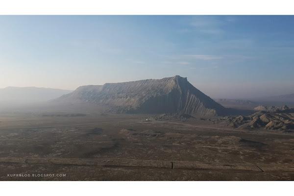 Вид на Джингирдагу с северо-восточной стороны