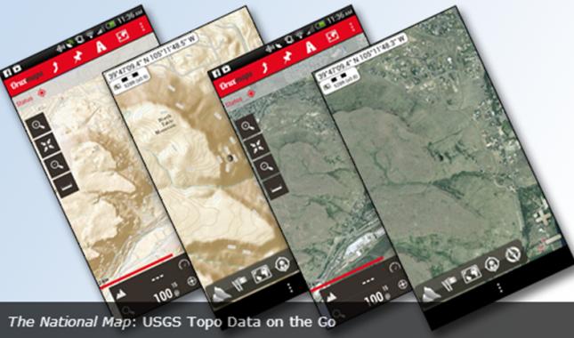 EPC Updates ~ ~ ~: USGS Topo Data Goes Mobile
