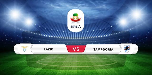Lazio vs Sampdoria Prediction & Match Preview
