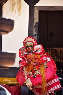 Bhadrakali Theyyam Images 7