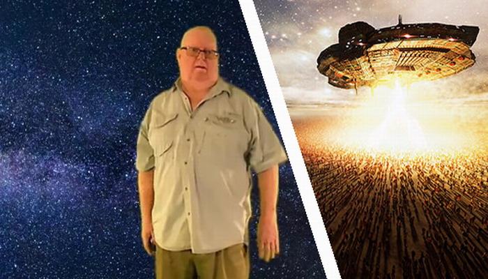 """Un """"ex trabajador del Área 51"""" afirma que ha volado un OVNI y ha viajado a través del TIEMPO"""