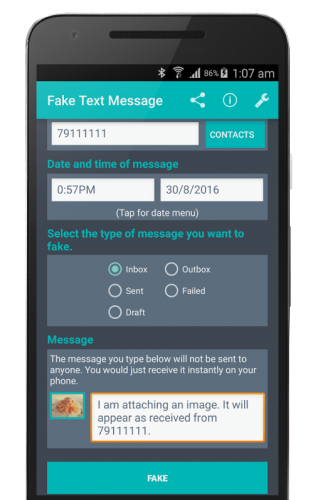 Fake Text Message v5 2 [Premium] APK | Free APK