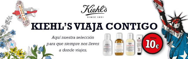 Kiehl's: tamaños de viaje que salen más económicos que el tamaño de venta