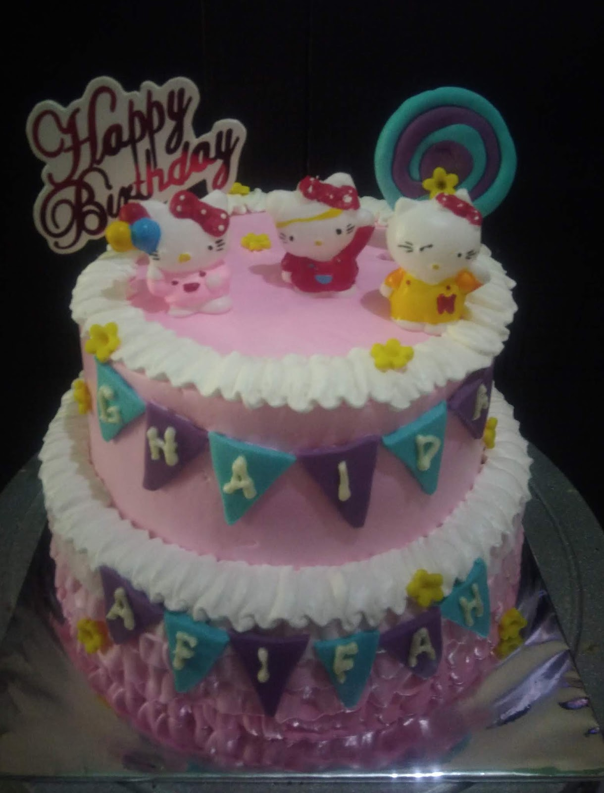 Aneka Kue Ulang Tahun Tingkat Atau Kue Pengantin Toko Kue
