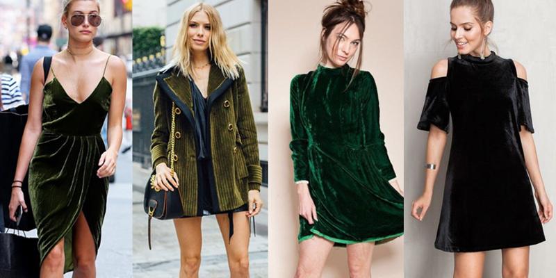Moda: Veludo em todos os lugares