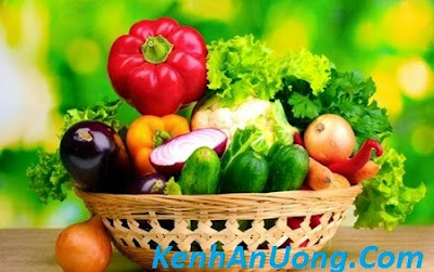 Cách đơn giản loại bỏ thuốc trừ sâu trong rau củ quả