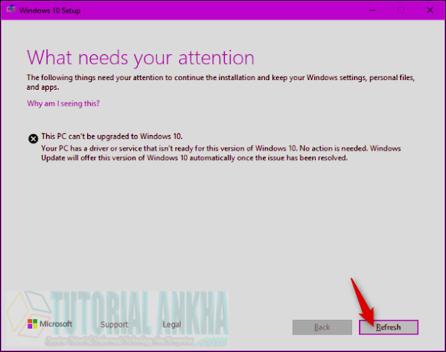 "Cara Memperbaiki ""What Needs Your Attention"" Kesalahan Upgrade Windows 10"