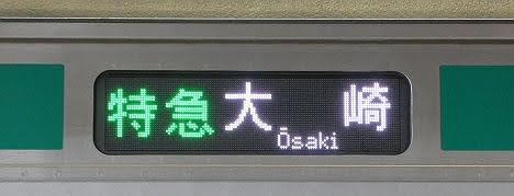 相鉄鉄道 特急 大崎行き1 E233系(2020.5渋谷駅工事に伴う運行)