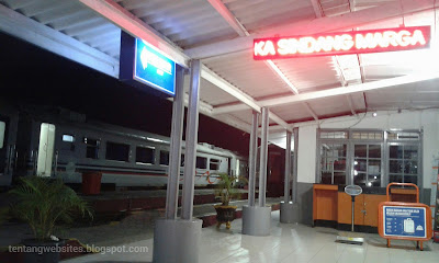 Pengalaman naik kereta api dari LLG ke Kertapati Palembang