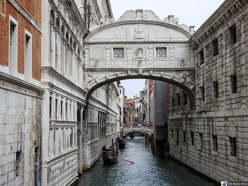Ponte dos Suspiros - O que fazer em Veneza