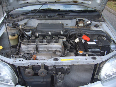 Nissan-Micra-Engine-Bay