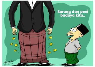 Budaya Berpeci dan Bersarung; Islam di Nusantara