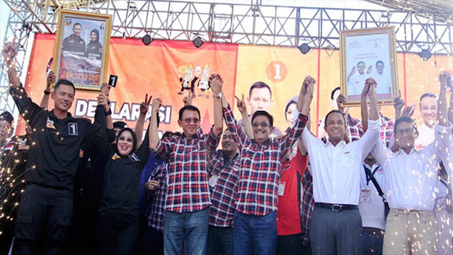 Laporan Dana Kampanye Ahok ke KPU Dinilai Janggal