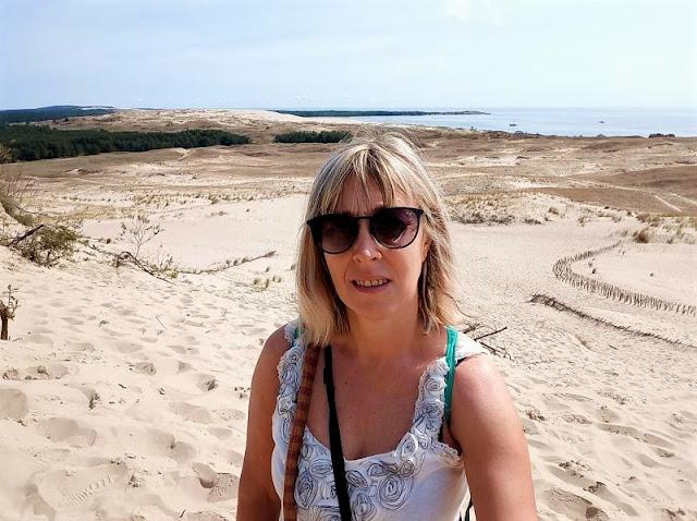 panorama dalla duna parnidis a nida