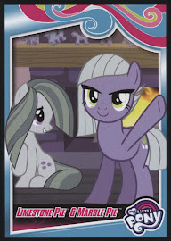 My Little Pony Limestone Pie & Marble Pie Series 4 Trading Card