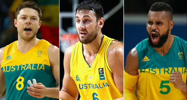 Australian Boomers Official 12-man Roster for the FIBA World Cup 2019