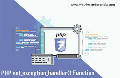 PHP set_exception_handler() Function