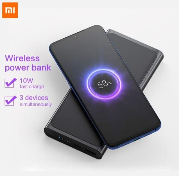Erentech-10000 mAh Mi Wireless Power Bank Essential