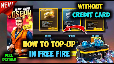 How To Top Up Diamonds In Free Fire In Pakistan Using