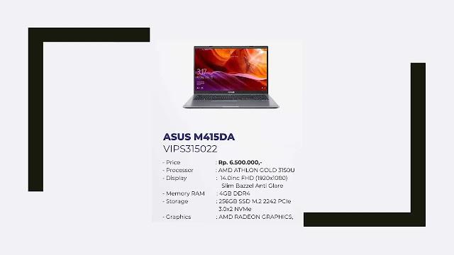 Laptop Asus M415DA