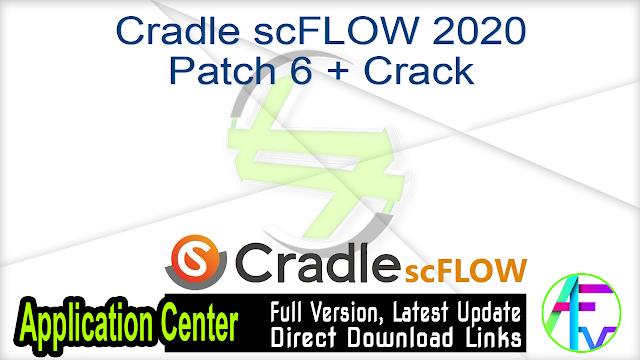 Cradle scFLOW 2020 Patch 6 + Crack