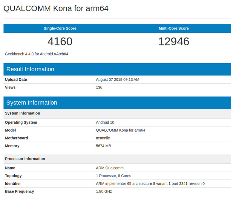 Qualcomm's alleged Snapdragon 865 spotted on Geekbench, beats everyone else