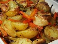 Legumes Assados ou Rústicos (vegana)