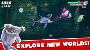 Hungry Shark World Mod APK - wasildragon