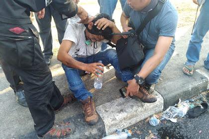 Tegur Polisi Represif ke Mahasiswa, Jurnalis Malah Dikeroyok dan Dipukuli
