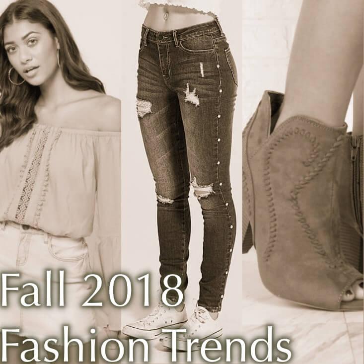 Fall 2018 Fashion Trends