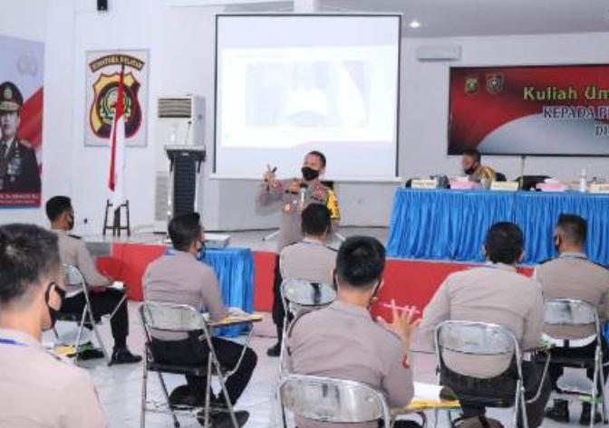 Kapolda Sumsel Buka Pelatihan dan Kuliah Umum pada Peserta Prolat Polda