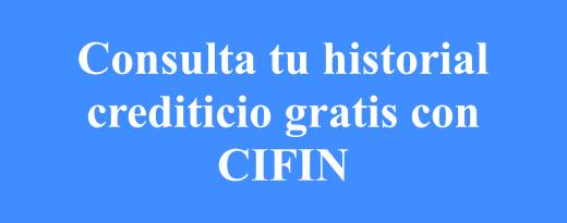 Cómo consultar Cifin gratis por medios escritos