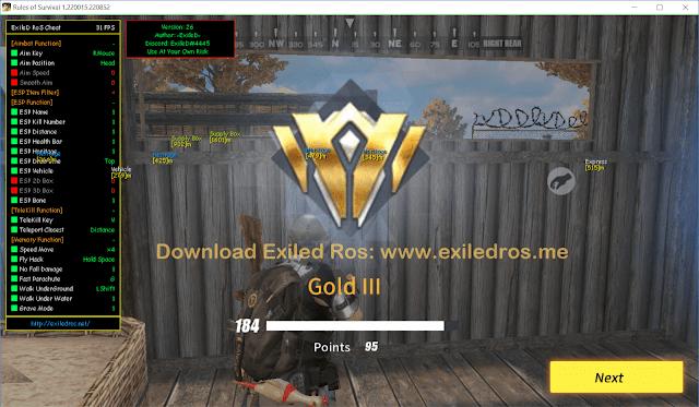 EXILED ROS CHIT 04-24-2019 - UPDATE V43 APRIL 24 2019