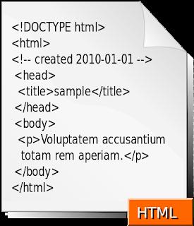 تركيبة وبنية صفحة html