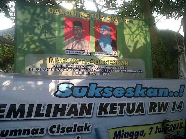 Pemilihan Ketua RW 14 Kelurahan Nagarasari Dokumen dibuang sayang