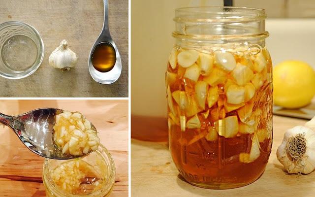 فوائد الثوم مع العسل