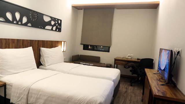 Kamar di Batiqa Hotel Palembang