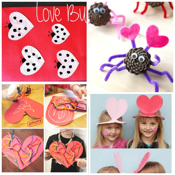 50+ VALENTINE'S ACTIVITIES & CRAFTS FOR KIDS- tons of great ideas!  Pin!  #valentinescraftsforkids #valentinesactivitiesforkids #valentinesdayforkids
