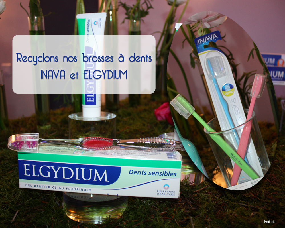 recyclage des Inava et Elgydium chez les pharmaciens