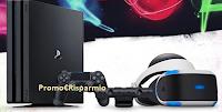 Logo Vinci gratis una Playstation 4 Pro con visore VR con EMP