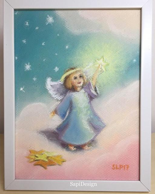 enkeli tähdet pilvi taivas