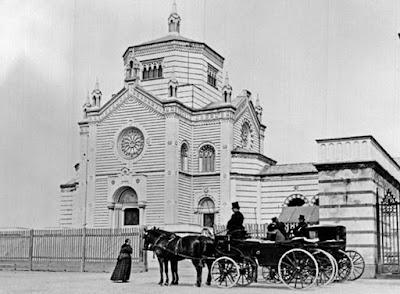 milano monumentale cimitero carrozze