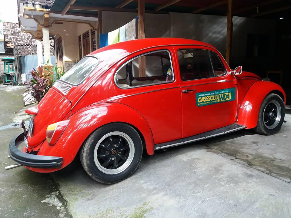 INFO VW BEKAS : Dijual VW Kodok Warna Merah Norak Coy ...